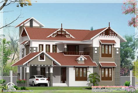 4 bedroom kerala house plan in 2180 sq kerala home