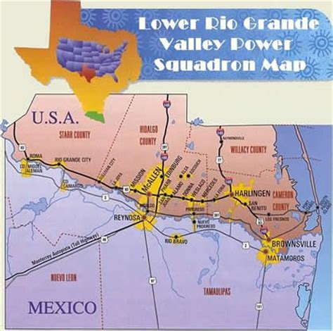 map of grande valley texas where is lrgv