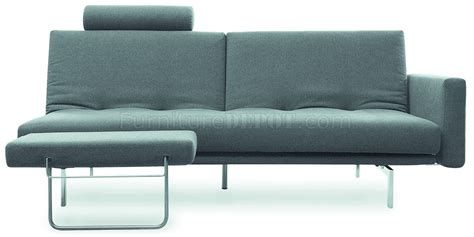metal frame couch dark grey fabric contemporary sofa bed steel metal frame