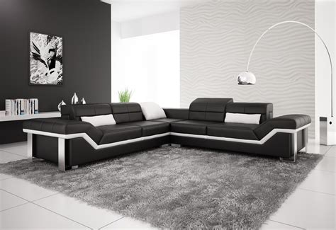black and white corner sofa olympian sofas rimini black leather corner sofa