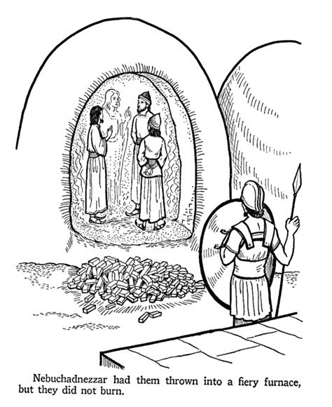 Daniel 3 Coloring Page bible coloring pages daniel 3 book of daniel