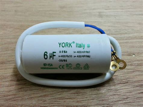 Kapasitor Capacitor 12uf 450v Spare Part Pompa Air Dllbest Quality jual 6 uf 450v kapasitor capacitor kabel york spare
