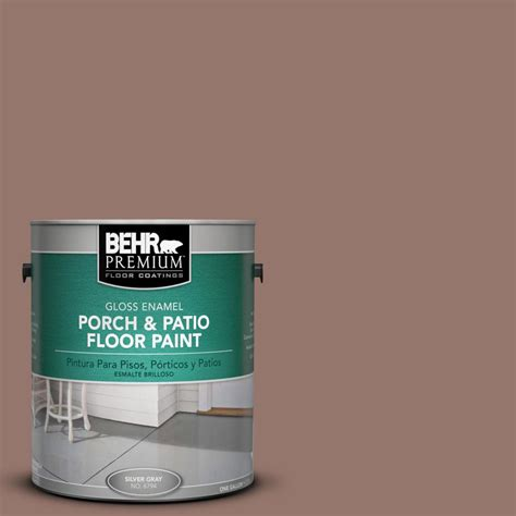 behr premium 1 gal n160 5 chocolate delight gloss porch