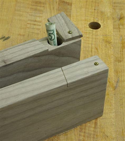 secret compartments woodworker s edge
