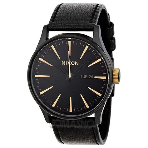 Nixon Mens A1051041 Sentry nixon sentry black leather s a1051041 jomashop