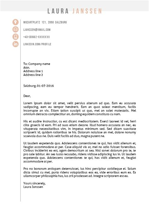Cover Letter For Cv Ppt Cv Template Salzburg In Ms Word And Ppt