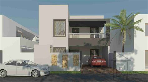 House Design Layout 3d by 5 Marla House Front Design Gharplans Pk