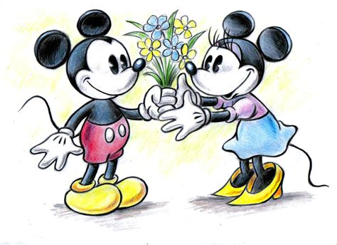 Mickey And Minnie L by Mickey And Minnie By Zdrer456 On Deviantart