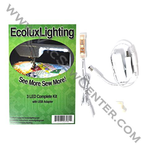 Lu Senter Usb 3 Led ecoluxlighting 3 led complete kit with usb adapter dixon