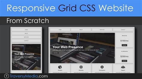 creating css layout from scratch build a responsive grid css website layout from scratch