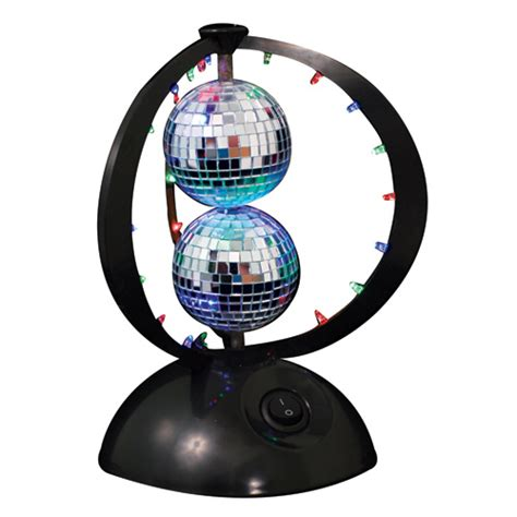Mini Keg Lamp by Disco Planet Double Disco Ball Light Craziest Gadgets