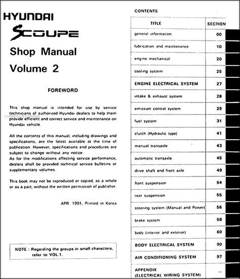 service repair manual free download 1987 mitsubishi excel security system 1992 hyundai scoupe repair manual download 1992