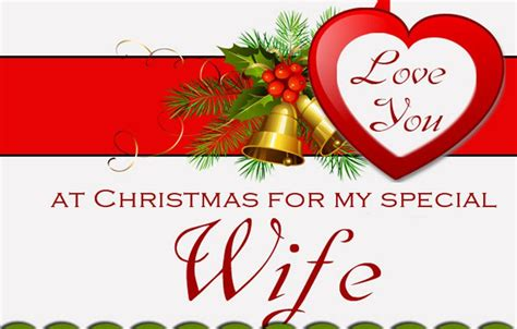 merry christmas messages  wife