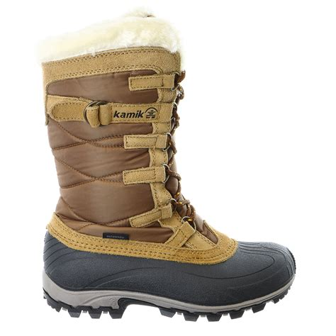 snow boot kamik snowvalley waterproof insulated winter snow boot