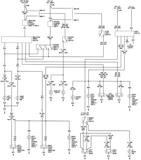 c10 truck wire diagram 1962 chevy c10 wiring diagram
