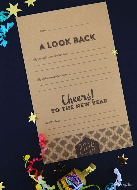 new year card in 2017 new years printable resolution cards