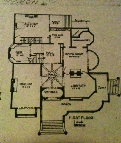 Carson Mansion Floor Plan | 17 best images about victorian era homes on pinterest