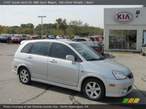 2005 Suzuki Aerio Hatchback Silky Silver Metallic 2005 Suzuki Aerio Sx Awd Sport