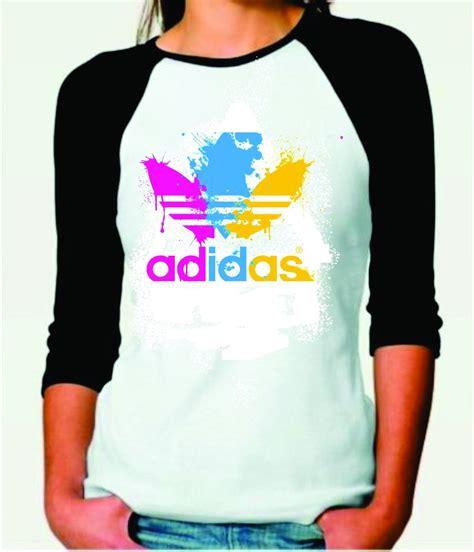 Raglan Adidas 3 camiseta raglan feminina 3 4 adidas r 35 00 em mercado
