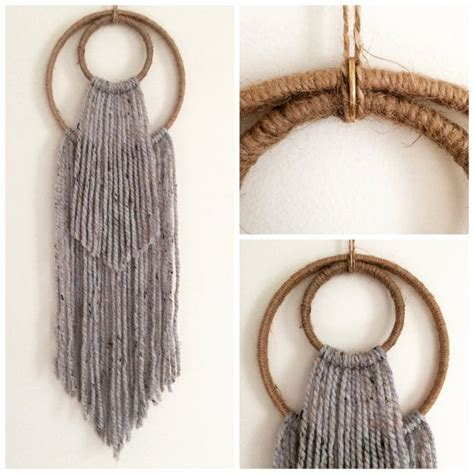 how to make wall decor at home 17 best ideas about yarn wall hanging on yarn