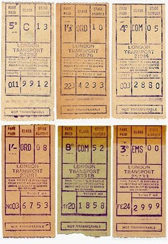printable bus tickets london transport bus tickets from old gibson ticket