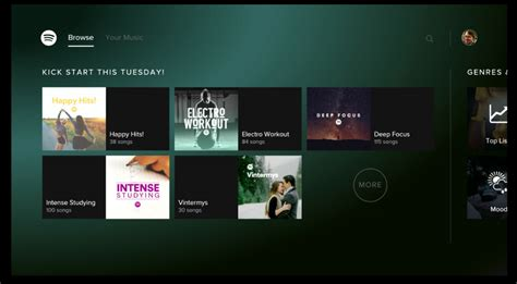 spotify android spotify now available for android tv klgadgetguy