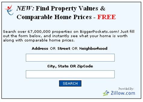 home value home value lookup