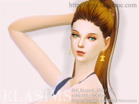 hair 258m sac at may sims 187 sims 4 updates sims hair 4 ela mayims 심즈4 헤어 sims 4 hair ela request