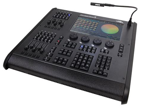 lighting console high end systems hedgehog 4x lighting console