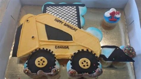 skid loader boys birthday cakes pinterest