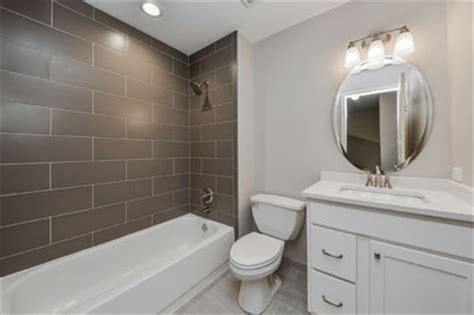 New Bathroom Tile Ideas by Charles Amp Cindy S Hall Bathroom Remodel Pictures Home