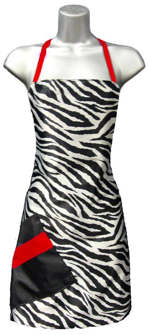 trendy hairdresser aprons hair salon apron zebra print red stylist apron zebra red