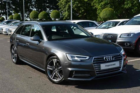 Audi A4 2 0 Tdi S Line by Audi A4 Avant Diesel 2 0 Tdi S Line 5dr Tronic For Sale At