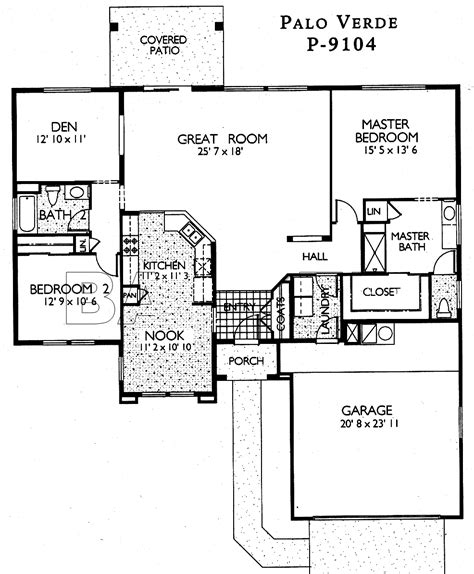 del webb house plans sun city grand palo verde floor plan del webb sun city grand floor plan model home