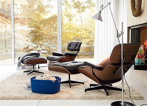 Living Room Lounge Chair Eames Lounge Chair Modern Living Room Vancouver By Rove Concepts
