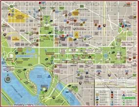 Washington Dc Map by Pics Photos Washington D C Travel Map