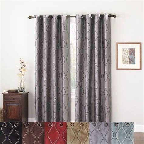 anna drapery brielle lined grommet panel from anna s linens via tuscan