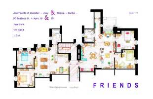 friends apartment s floorplans version 2 by nikneuk on apartments accurate floor plans of 15 famous apartments