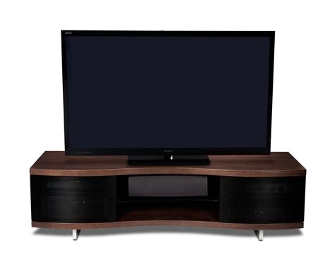 wide tv stand bdi ola wide tv stand modern home theatre stands