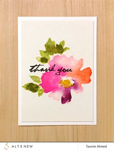25 best ideas about watercolor cards on easy watercolor calligraphy and easy