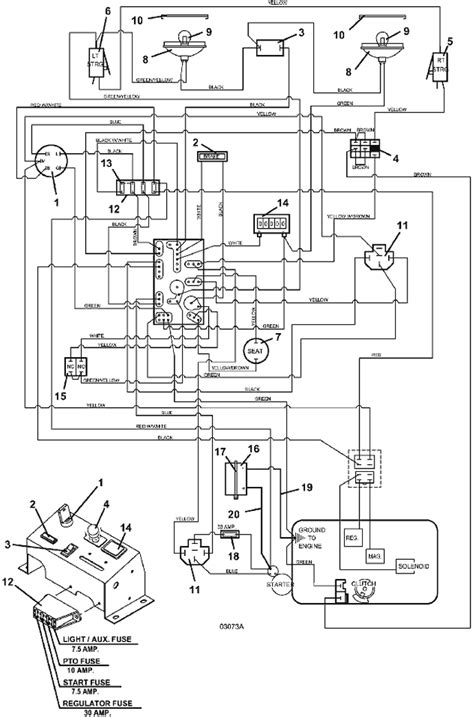 220 electrical wiring diagram electrical wiring assembly model 220 2005 grasshopper mower
