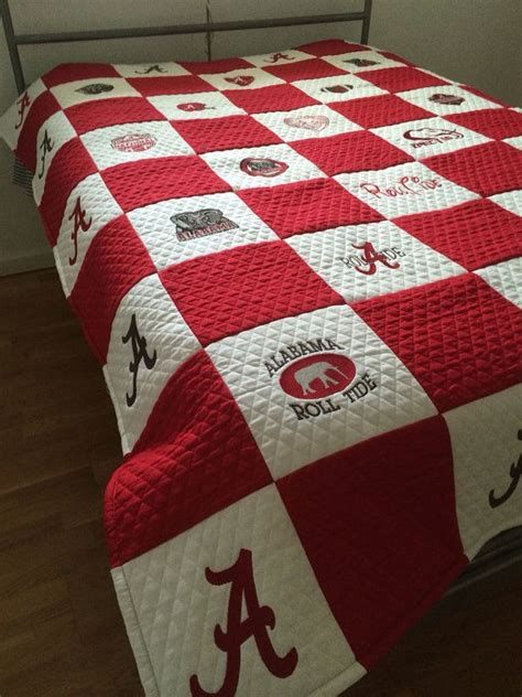 Alabama Quilts alabama football quilt embroidery