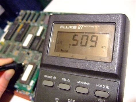 testing resistors with a digital multimeter how to use a digital multimeter to test a resistor it still works giving tech a new