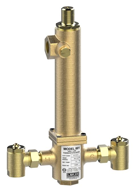 series  thermostatic highlow mixing valve lawler manufacturing company