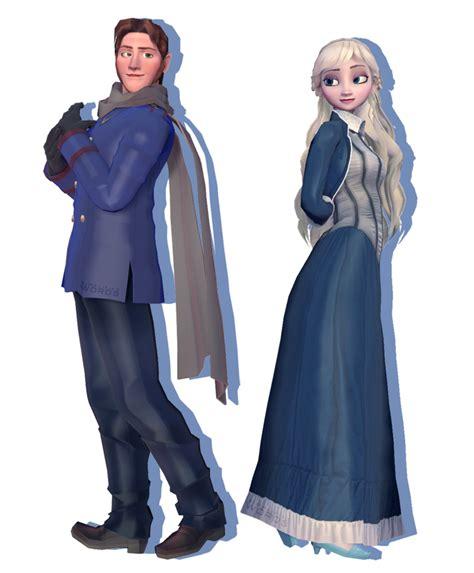Dress Helsa helsa in blue by wintrydrop on deviantart
