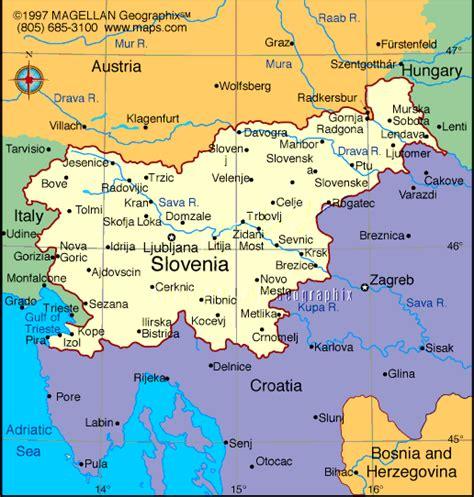 slovenia on world map deaf cultures slovenia