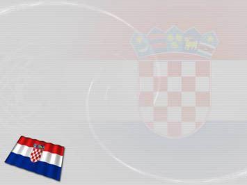 Croatia Flag 01 Powerpoint Templates Www Indezine Powerpoint Templates Freetemplates Html