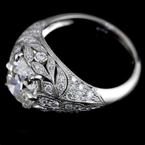 renaissance style engagement rings regency