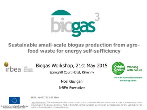 waste to wealth energy environment and sustainability books sustainable small scale biogas production from agrofood