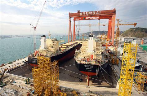 heavy hyundai industries restructuring shipbuilding hyundai heavy industries to